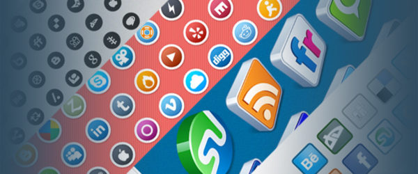 20 Sets of Social Media Icons